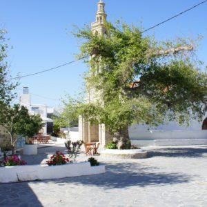 Lachania Main Square - B&B Rhodos